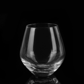 China Luxury high quality stemless wine glass factory