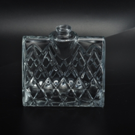 China Machine Made Lady Handbag Shape Cosmetic Glass Perfume Bottle factory
