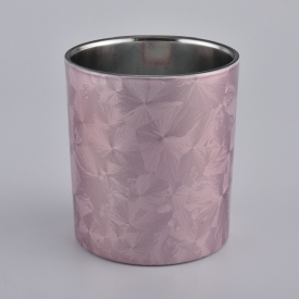 China New painting glass candle holders factory
