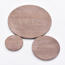 China Popular Wooden lids for candle jars factory