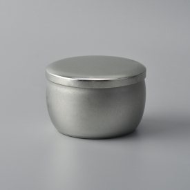 China Small tin candle holder for travel candles factory