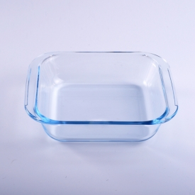 China Square borosilicate glass bakeware for food factory