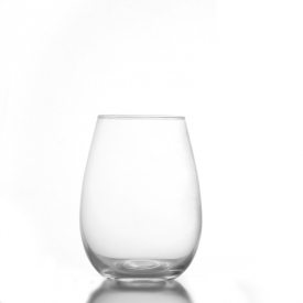 China Stocked machine blown stemless wine glass factory