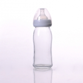 China Tempered glass feeding bottle factory