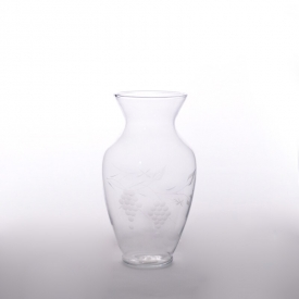 China Unique decorative glass vase factory
