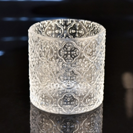 China Wedding table centerpieces decorative tea light glass candle holder factory