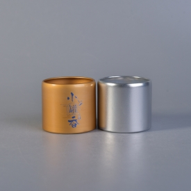 La fábrica de China Venta al por mayor de metal coffee box gold tea containers