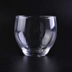 China Wholesale raotatable clear round glass cups factory