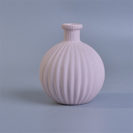 China ball shape ceramic diffuser bottle with reed factory