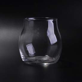 China big tummy small mouth round red wine glass factory