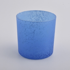 China blue candles scented luxury soy wax candle holders factory