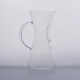 China borosilicate pouring over coffee glass factory