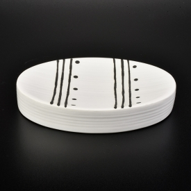 China ceramic soap dish for bath room factory