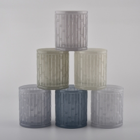China classic home decor glass candle jars factory