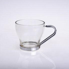 China clear glass coffee mug factory