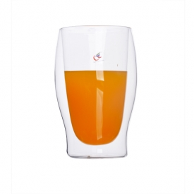 China clear glass milk cup for sale factory
