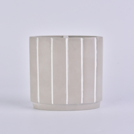 China concrete brush pot for toothpaste or toothbrush factory