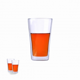China double wall borosilicate glass cup factory