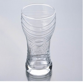 China engraved highball glass factory