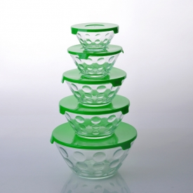 China glass bowl set factory