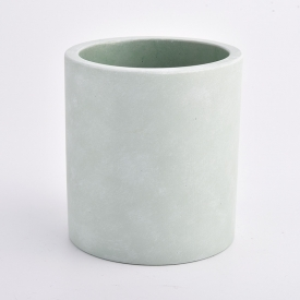 China light green concrete container for candle making factory