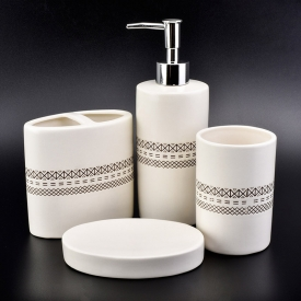 China luxury ceramic bathroom accessories sets factory