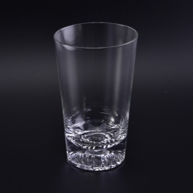 China unique bottom soft drinking glass tumbler factory