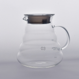 Chine pot en verre de café au borosilicate au design unique usine