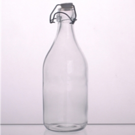 China wholesale 1 liter glass bottle milk factory