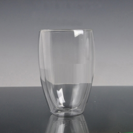 China wholesale borosilicate double wall glass factory