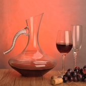 China wholesale glass wine decanter factory