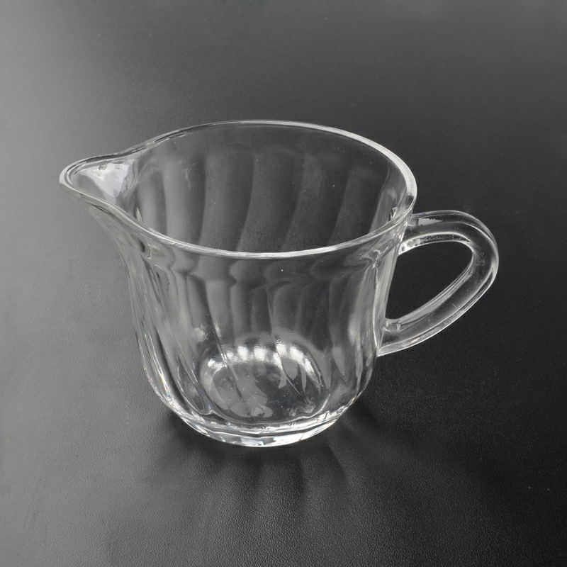 223ml Glass Coffee Mug Large Capasity Glass Coffee Cup