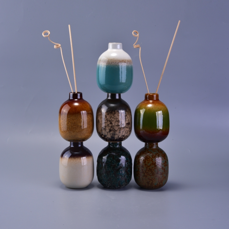 Wholesale Decorative Perfume Bottles: 240ml Reed Diffuser Glass Bottle Wholesale Ceramic