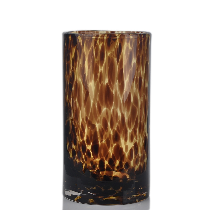 vase en verre 28cm tall couleur de verre cristal grand vase grande bouteille vase en verre. Black Bedroom Furniture Sets. Home Design Ideas