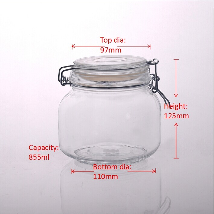 how to find capacity of a jar