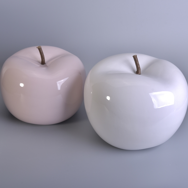 beautiful glaze home decorating ceramic apple home