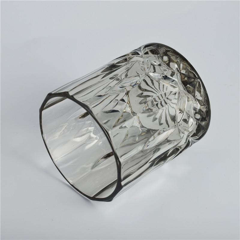 schwarz gravieren glas kerze glas kerzenhalter aus glas auf. Black Bedroom Furniture Sets. Home Design Ideas