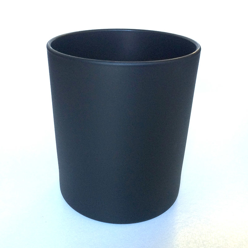 Black Glass Candle Holders For Wholesale Glass Candle