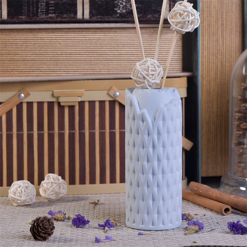Ceramic Aroma Diffuser Bottle For Home Fragrance Reed