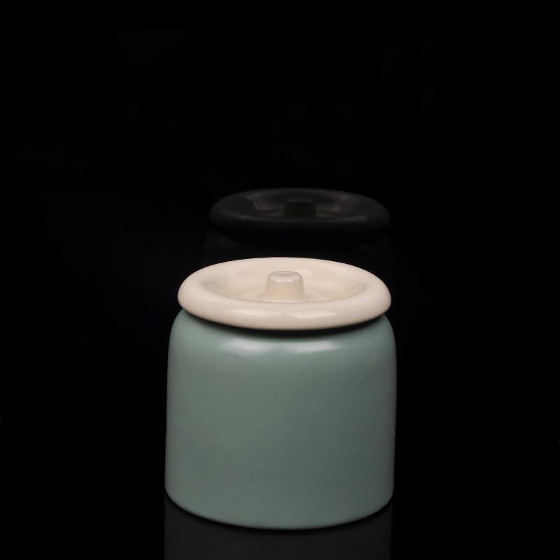 Ceramic Candle Jar With Lid Ceramic Candle Jars Ceramic