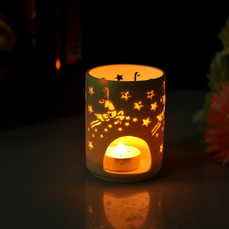 Ceramic Jar For Tealight Candle Ceramic Candle Holder