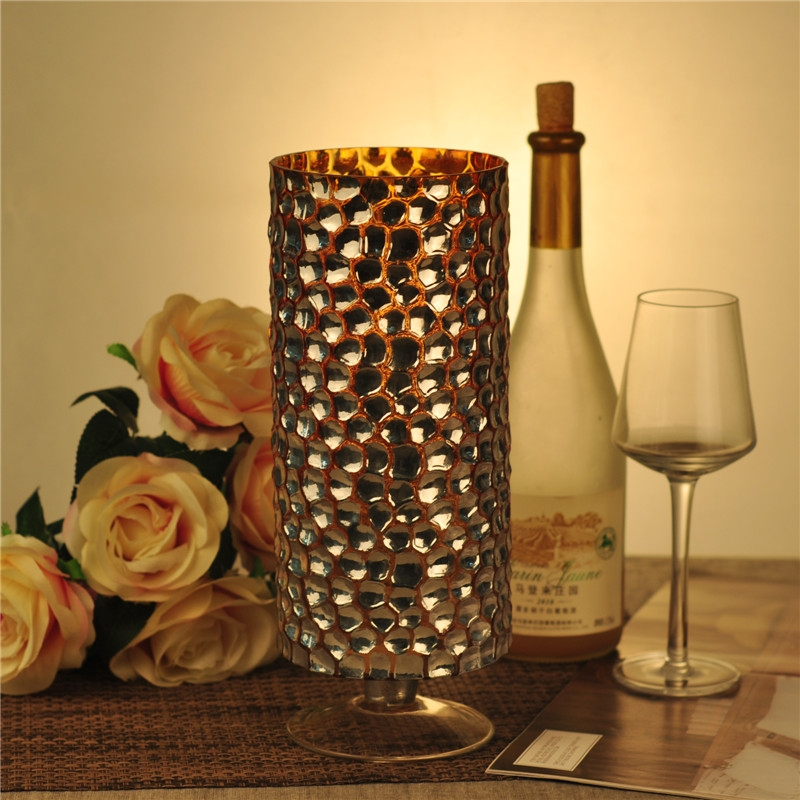 Contact Supplier Leave Messages Mosaic Glass Candle Holder