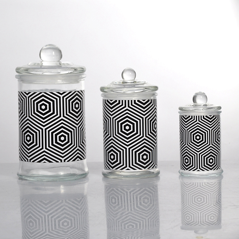 Custom Glass Candle Jars And Lids Glass Candle Jars On
