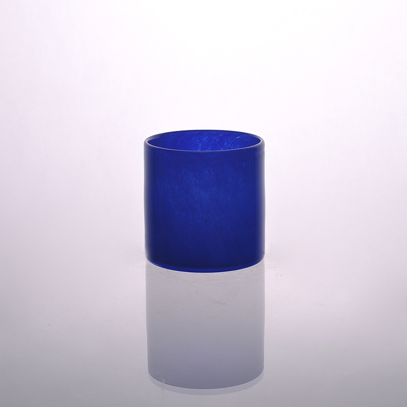 Glass Colored Votive Candle Holder For Decoration Glass