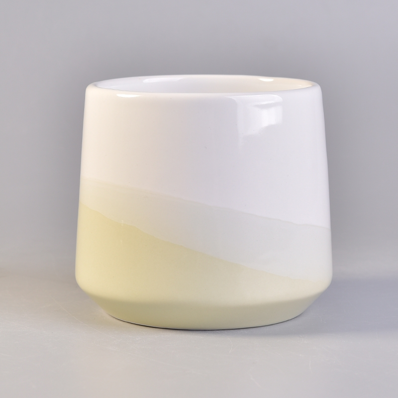 Glazing Ceramic Candle Vessels For Home Fragrance