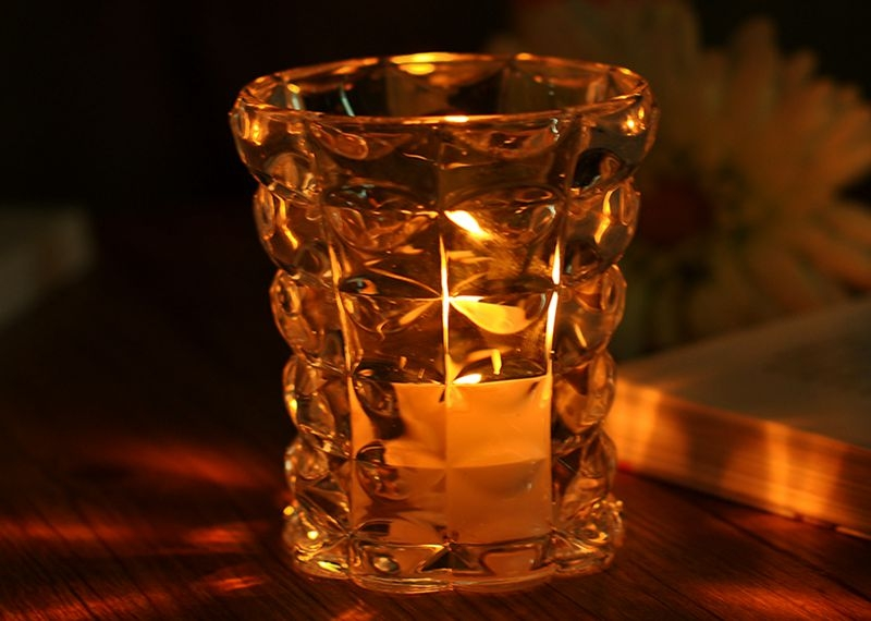 Home Decor Votive Glass Candle Holder
