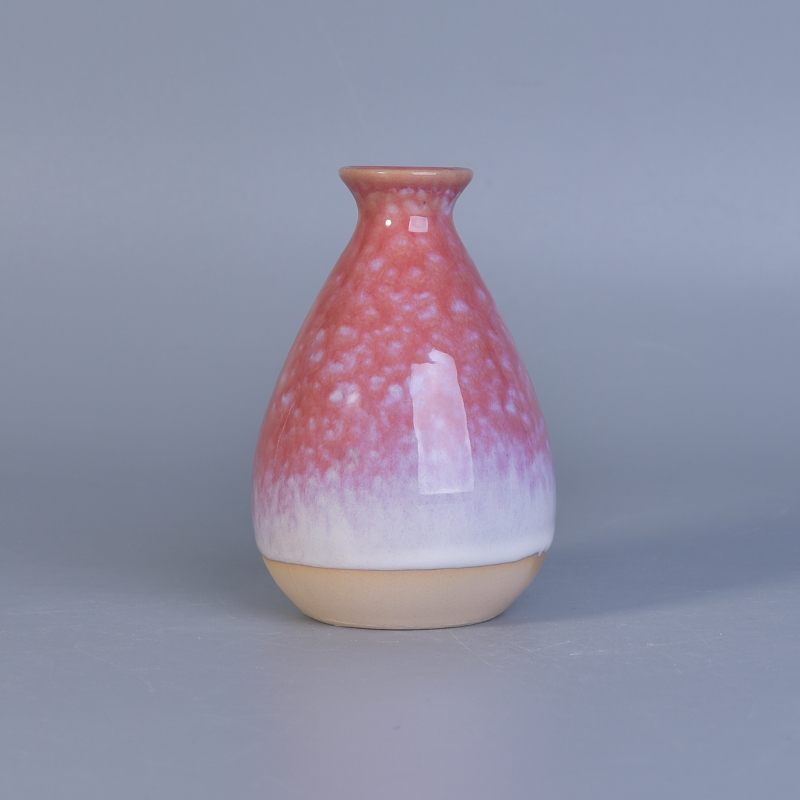 Reactive Glazed Aroma Reed Ceramic Diffusers Bottle Reed