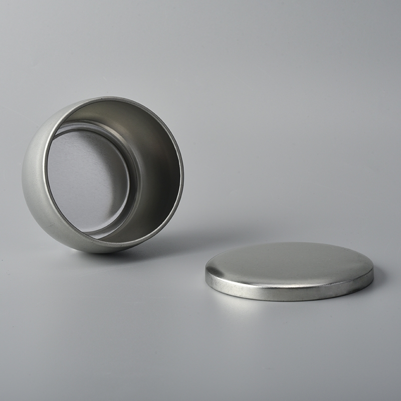 Small tin candle holder for travel candles,tin candle box ...
