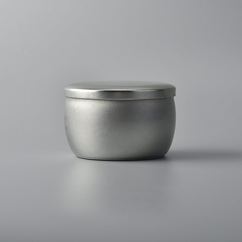 Small Tin Candle Holder For Travel Candles Tin Candle Box