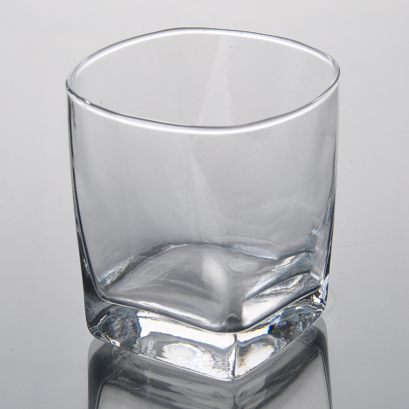 Square Bottom Drinking Glass Glass Cup On